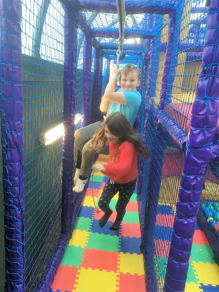 Tumble in The Jungle Soft Play - The Willows Garden Centre Usk
